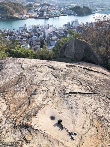 尾道市 千光寺 鼓岩の写真