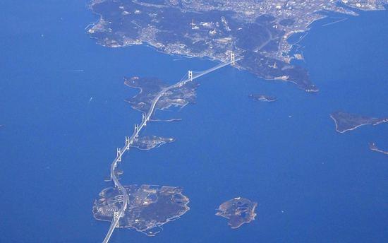 しまなみ海道・瀬戸大橋など、年末年始の本四高速道路の渋滞予測について