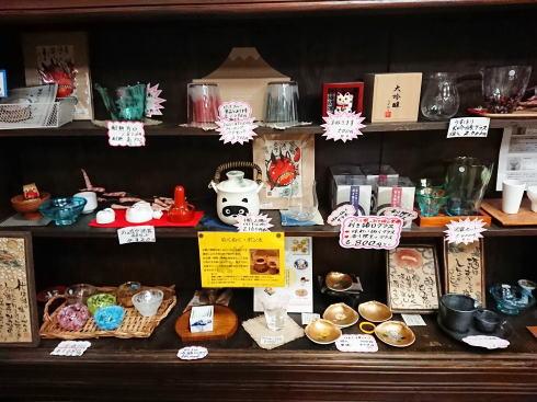 賀茂泉 酒泉館 店内の物販コーナー