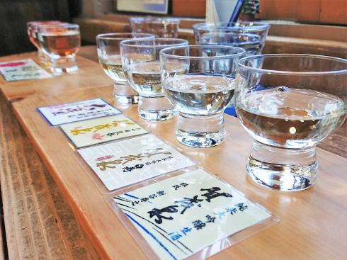 賀茂泉 酒泉館、西条でお酒の飲み比べが気軽に楽しめる「お酒喫茶」