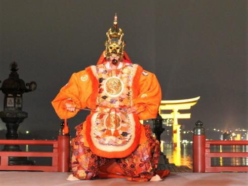 宮島 天長祭、天皇誕生日に舞楽5曲奉奏