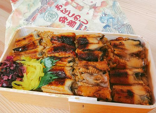 宮島口 あなごめし「ふじの屋」美味しい穴子飯弁当、大サイズ女性でもペロリ