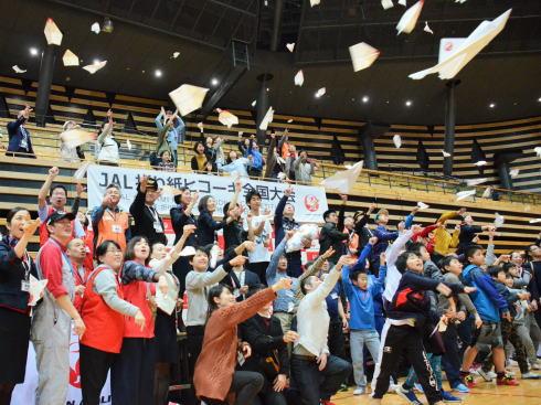JAL折り紙ヒコーキ全国大会 広島予選、小学生から参加OK!
