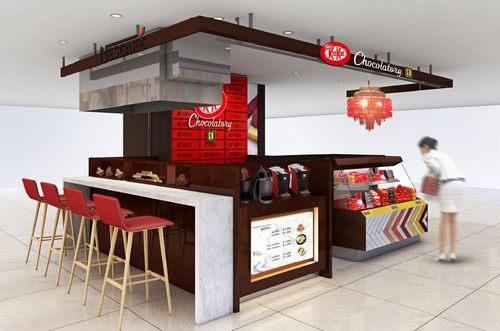 広島に中四国初「キットカット ショコラトリー」オープン、広島限定デザインも
