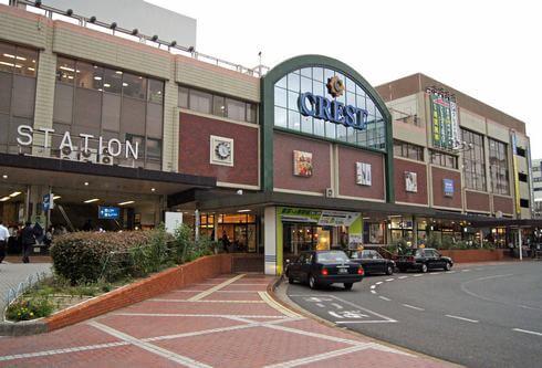 JR呉駅の駅ビル「クレスト」には商業施設も