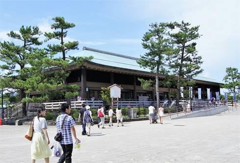 宮島桟橋旅客ターミナル全景