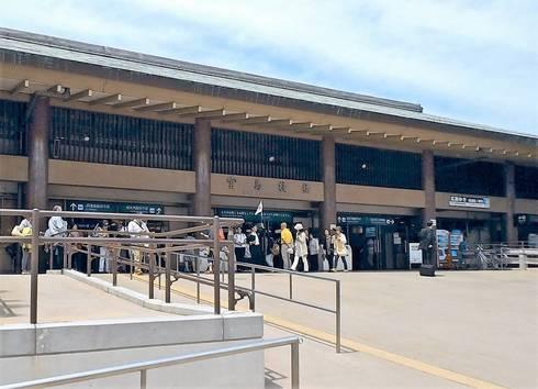 宮島桟橋、ターミナル