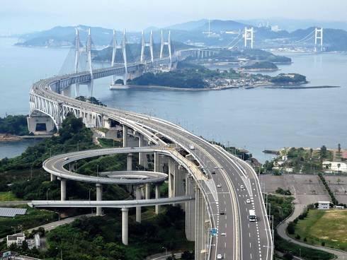 瀬戸大橋、スカイツアーの眺め1