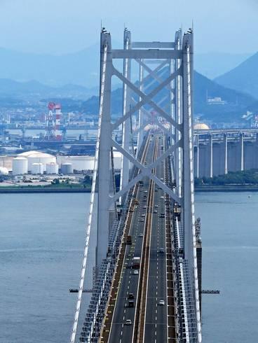 瀬戸大橋、スカイツアーの眺め2