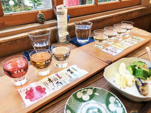 賀茂泉 酒泉館 お酒の試飲セット2