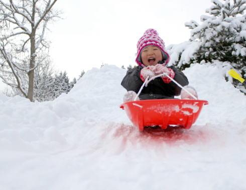 親子で雪あそび!スノーフェスタinくちわ