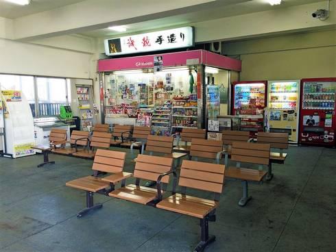 JR竹原駅、売店