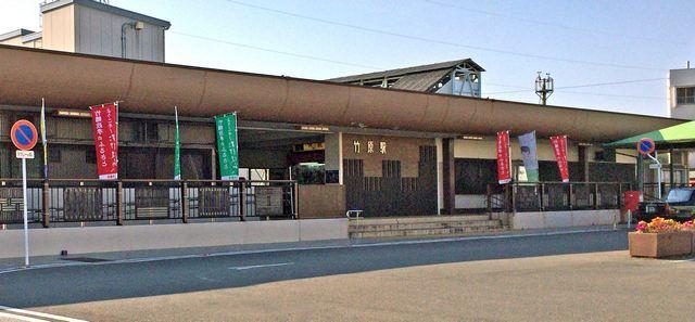 JR竹原駅、全体