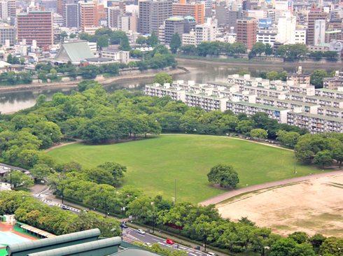 中央公園に決定、広島のサッカースタジアム建設 2023年の完成目指す