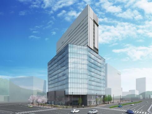 グラノード広島、広島エキキタに新複合ビル 2019年4月開業