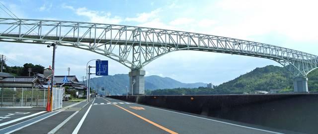 早瀬大橋 倉橋島からの様子2