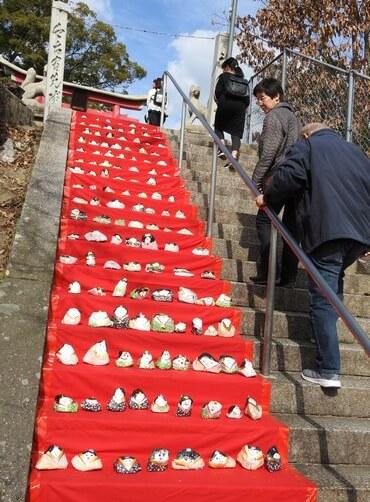 三原のひな祭り、大島神社