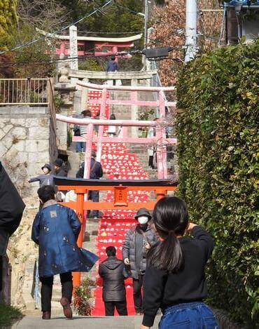 三原市 おひなまつり、大島神社
