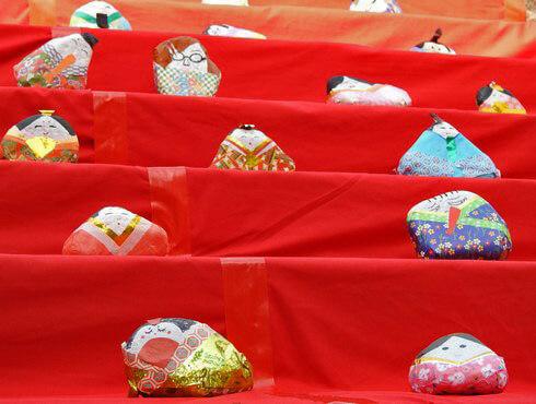 三原のひな祭り、正法寺にて
