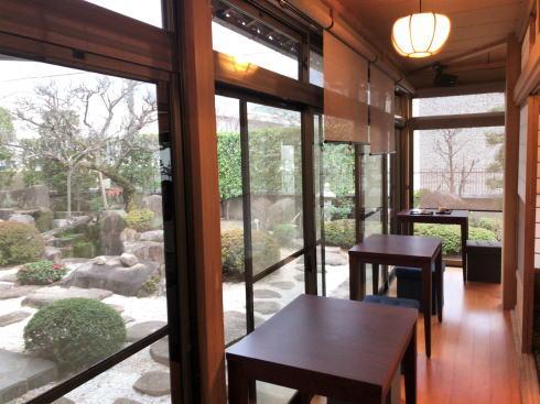 カカオ果 五日市本店 カフェスペース