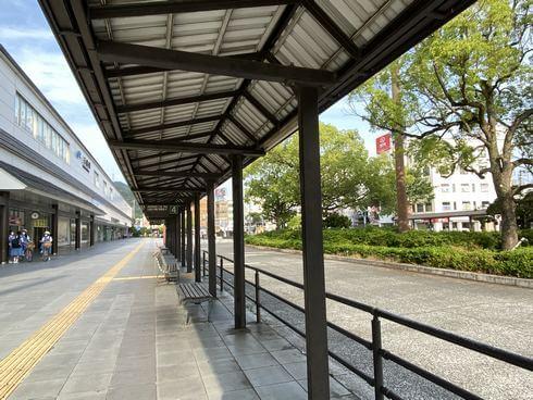 JR三原駅南口のバス乗り場