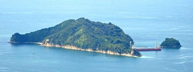 長島と我島(江田島市)