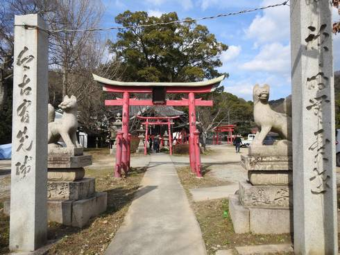 大島神社 石門