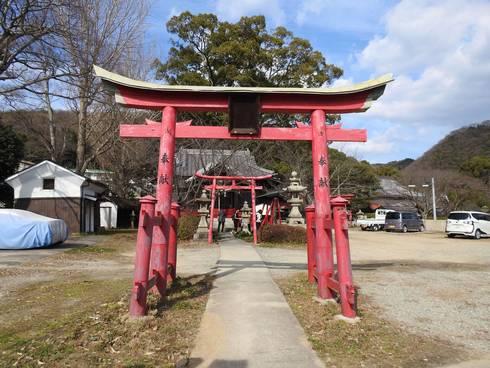 大島神社 鳥居