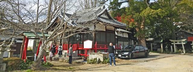 大島神社 パノラマ