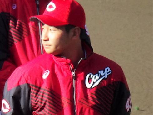 カープ 島内颯太郎選手