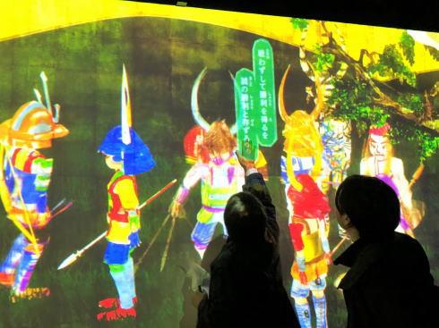 「チームラボ 広島城 光の祭」開催時の写真8