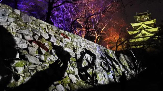 「チームラボ 広島城 光の祭」開催時の写真6