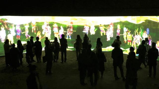 「チームラボ 広島城 光の祭」開催時の写真10