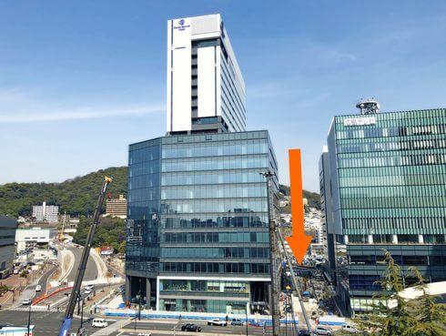 広島テレビとグラノード広島の間に、イベント広場が誕生!