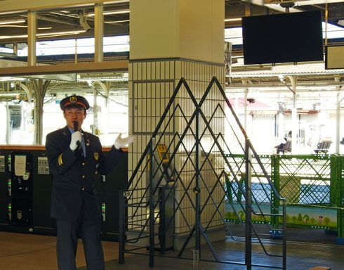 尾道駅に「TWILIGHT EXPRESS 瑞風」専用ゲート