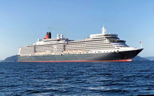 広島・五日市港に客船「クイーンエリザベス」船内見学会も