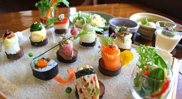 庄原の新グルメ「やさい寿司」見て食べて感じて楽しむ贅沢時間