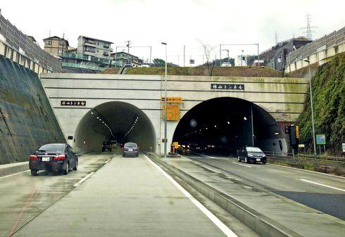 休山トンネル開通!国道185号 休山新道が4車線化