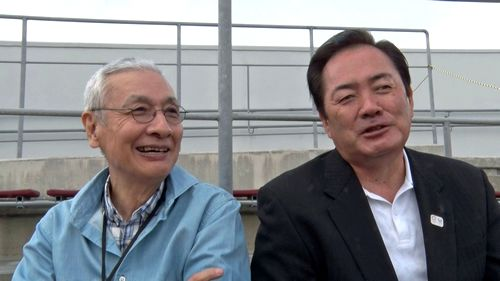 久米宏がカープOBにインタビュー、カープ特番で
