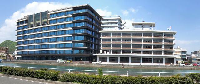 三原市役所 新庁舎 写真