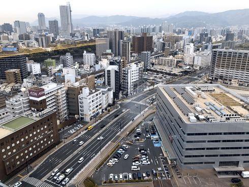 ダイワロイネットホテル広島駅前の客室からは、いい眺め!