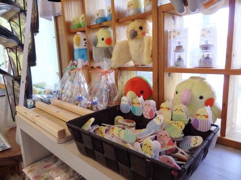 福山市 カフェことり日和 雑貨もたくさん