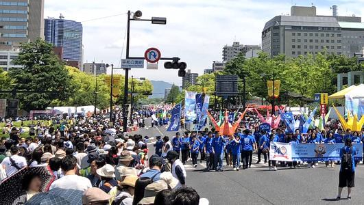 広島や福岡で29度超え!全国的に夏日の強い日差し、熱中症にご注意を