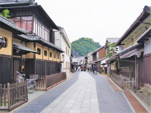 嵐 JAL 先得ロケ地の 広島県竹原市 町並み保存地区の風景4