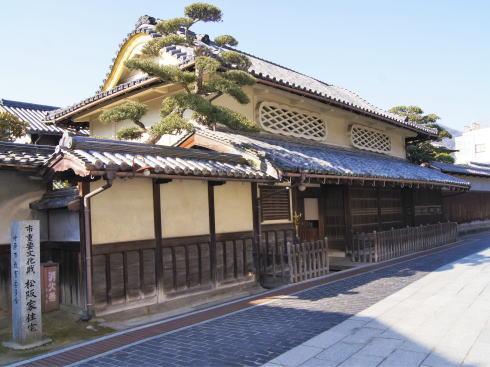 嵐 JAL 先得ロケ地の 広島県竹原市 町並み保存地区の風景