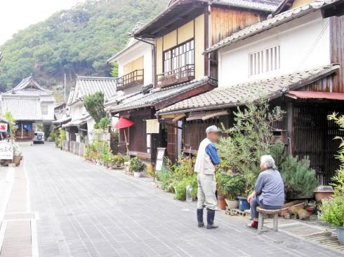嵐 JAL 先得ロケ地の 広島県竹原市 町並み保存地区の風景6