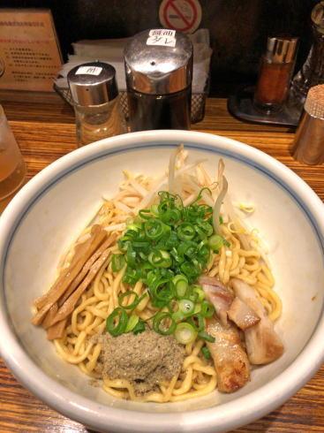 麺鮮醤油房 周月 広島店 油そば
