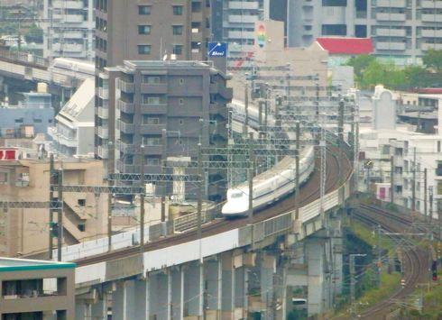ダイワロイネットホテル広島駅前から新幹線も見える!