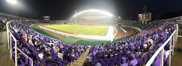 エディオンスタジアム広島は、サンフレッチェ広島のホームスタジアム