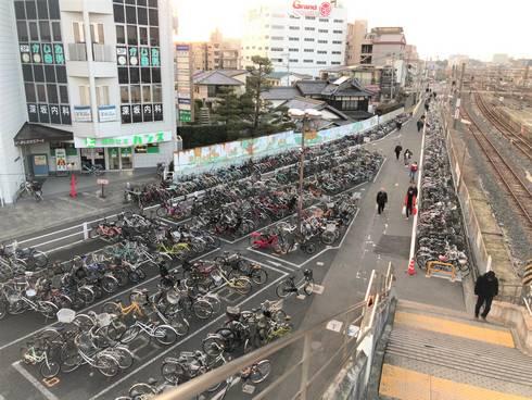 海田市駅 南口・駐輪場